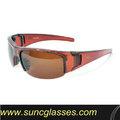 la mayoría popular modelo de deporte al aire libre gafas de sol con lentes de gafas de sol de conducción