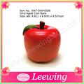 prix usine petites pommes de décoration en plastique