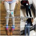 cashmere leggings moda coreano encantador bonito dos desenhos animados chorando cara grosso quente inverno mulheres moda legging