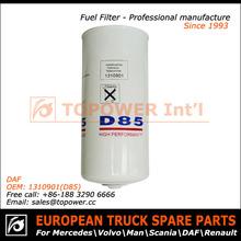 auto reemplazable del filtro de aceite elemento