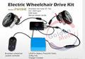 FDA bateria cadeira de rodas motorizada aprovado , kit de conversão de cadeira de rodas elétrica da Golden Motor