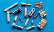 piezas de latón eléctrica