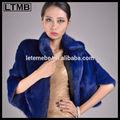 abrigo para las mujeres y las niñas de las señoras de color azul brillante en el más reciente estilo