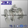 2pc brida de la válvula de bola flotante Ansi ss304 utilizado en petróleo y gas DN20 agua hecha por el fabricante profesional