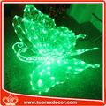 Iluminación LED colgando mariposas artificiales