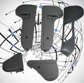 Pieza de plástico auto prototipo, prototipado rápido, de mecanizado cnc/colada en vacío/3d de impresión