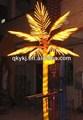 de coco led iluminación del árbol de tronco decorado 4m 2014 nuevo producto planta artificial