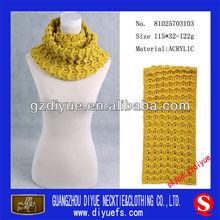 de punto de moda de la señora mantón bufanda