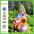 caliente el enano de jardín de la casa del pájaro del jardín para la decoración
