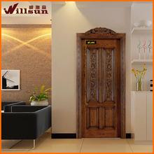 las puertas de casa 24 pulgadas puerta exterior decorativo de la puerta interior de paneles de la piel