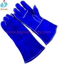 Chaude! Renforcé gants de soudage grey gants en peau de porc.