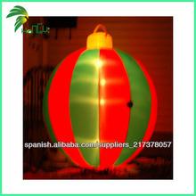 Luz LED Bola de Navidad inflable Decoración de Navidad