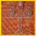 candelabros de acrílico de moda