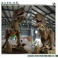 Una simulación de un dinosaurio de tamaño natural