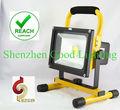 20w recargable lámpara de alta intensidad, luz de emergencia portátil, de trabajo portátil para la luz de emergencia