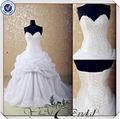 jj3552 china fábrica de cristal de organza vestido de noiva comprando vestidos de casamento da china