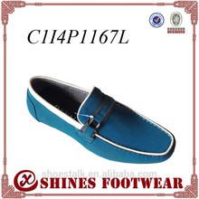 color azul casual los hombres nuevos zapatos