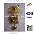 navidad de plástico colgando decoración para la navidad