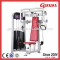 Casa aparatos de gimnasio pecho ancho máquina de la prensa/sentado press de pecho