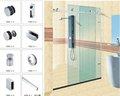 Accesorio de puerta de la ducha, traje de hardware de la sala de ducha, K002