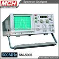 RF Analizador de espectro 0.15 ~ 500MHz Analizador de espectro de frecuencias