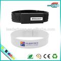 De alta- final baratos usb flash drive 16gb pulseras con el logotipo personalizado