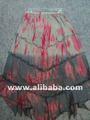 Para las faldas de las mujeres en algodón con& tie dye