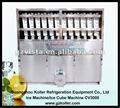 Usado comercial máquina de fazer de 3 tonelada/dia cubo de gelo industrial para a fábrica de gelo