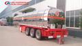 Química camión tanque de líquido, eje 3 líquidos químicos camión de transporte