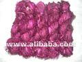 de color púrpura de la cinta de seda