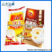 Impreso láminadealuminio envasadodealimentos bolsa/bolsa de laminado para la alimentación