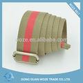 nuevo diseño de tejido cinturón de tejido del cinturón de fábrica