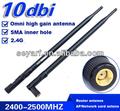 2.4g 10 dbi huawei router antena wi-fi para
