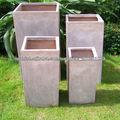 huerto en macetas 70% de fibra de vidrio de descuento GRC FRP cemento