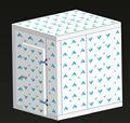 100mm PU paneles de Cuartos frios 2600X2800X2400(H)