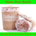 de malla plegable cesta de la ropa y exportador