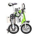 2014 de aluminio de peso ligero plegable 4 rueda de bicicleta eléctrica