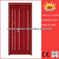 China, Puerta de madera grande por la fábrica SC-W022