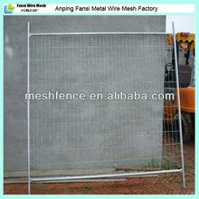 De acero galvanizado de alquiler temporal valla( fabricación)
