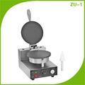 de acero inoxidable comerciales waffle fabricante de cono
