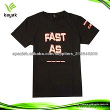100cotton promoción camiseta barata fabricantes de ropa de diseño en China