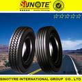 285/75r22.5 275/80R22.5 11R24.5 boto marque radiale sans chambre à air de pneus de camion