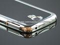 Para Samsung i9500 Galaxy S4 IV Chrome Ultra Premium Cubierta dura delgada