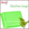 superior de control de grasa té de árbol hecho a mano jabón para la cara