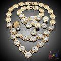 moda brillante gota única conjunto de joyas/popular joyas con encanto conjunto