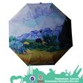Alibaba de China fábrica de paraguas venta en línea caliente pliegue paraguas