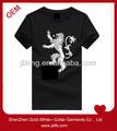 individual negro camisas de león