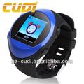 android elegante reloj teléfono móvil resistente al agua reloj gps de seguimiento de seguimiento