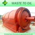 máquina verde que se recicla neumáticos gastados