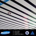 Tablero del techo metálico lineal